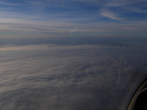 En vol vers La Rochelle